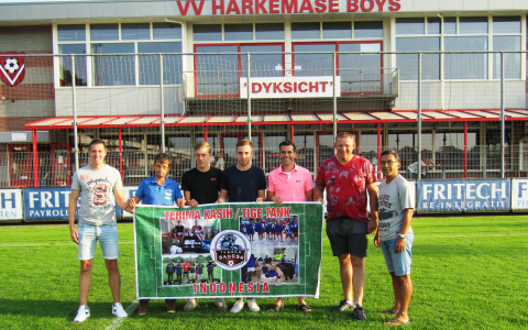 Indonesian banner for Dutch soccerclubs